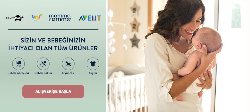 Sizin ve Bebeğinizin İhtiyacı Olan Tüm Ürünler Boyner'de!