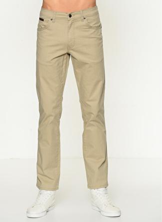 Lee & Wrangler Texas Bej J Klasik Pantolon