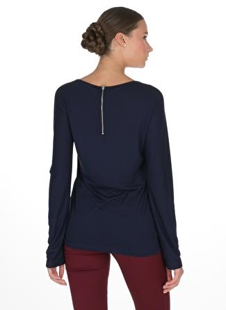 Caramel Lacivert Bluz