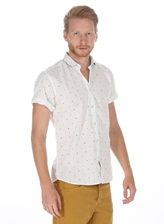 Jack & Jones Beyaz Gömlek