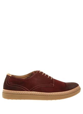 Cotton Bar Bordo Günlük Ayakkabı