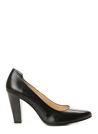 Divarese Siyah Topuklu Ayakkabı