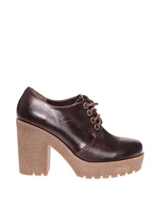 BLACK PEPPER Kahve Düz Ayakkabı