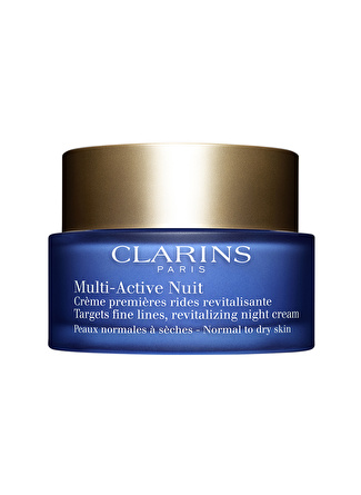 Clarins Multi Active Night Cream Dry Skin Nemlendirici