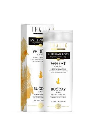 Thalia 300 ml Buğday Ve Bal Özlü Saç Dökülmesine Karşı Etkili Bakım Şampuanı