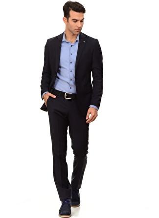 GEORGE HOGG Lacivert Takım Takım Elbise