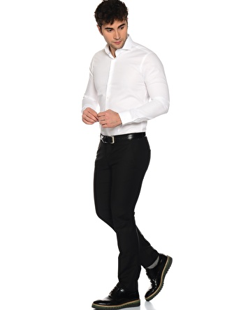 GEORGE HOGG Siyah Takım Elbise