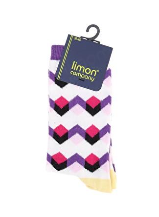 Limon Company Soket Desenli Kadın Soket Çorap