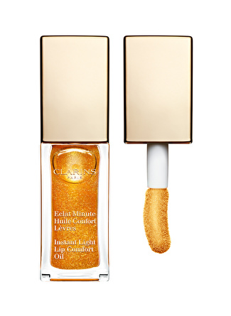 Clarins Instant Light Lip Comfort Oil 07 - Honey Glam Ruj