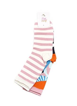 Pink&Orange Kız Çocuk Soket Çorap