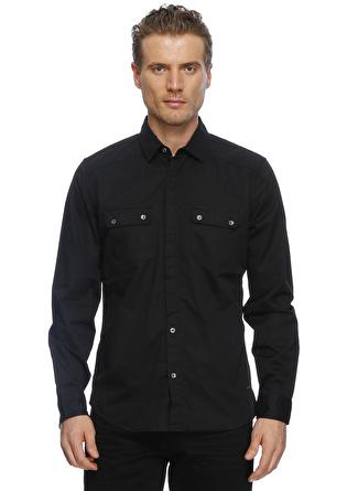 Loft Siyah Cepli Spor+ Gömlek