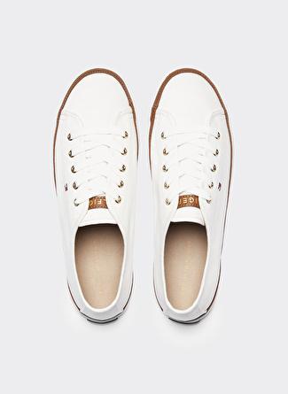 Tommy Hilfiger Beyaz Kadın Yürüyüş Ayakkabısı