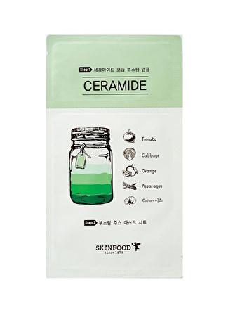 Skinfood Boosting Juice 2 Parçalı Tek Kullanımlık Seramid Bakım Maskesi