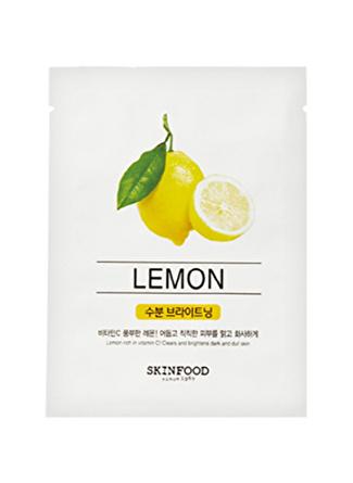 Skinfood Beauty in a Food Tek Kullanımlık Limon Bakım Maskesi