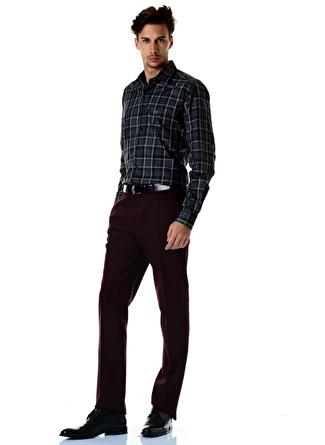 Beymen Business Bordo Klasik Pantolon
