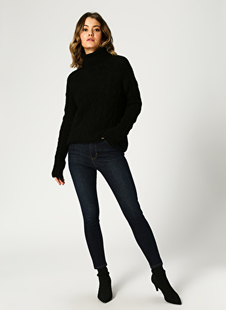 Mustang Perfect Shape Skinny Lacivert Denim Pantolon