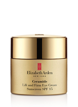 Elizabeth Arden Ceramide Lift And Firm Eye Cream Spf15 15 ml Göz Kremi