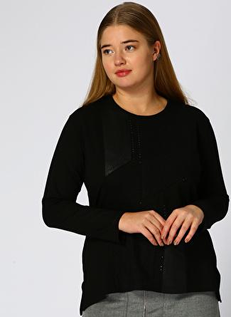 PAPİLLA Siyah Bluz