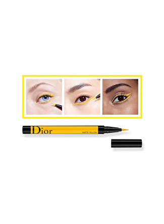 Christian Dior Diorshow On Stage Liner Waterproof - 541 Matte Yellow Eyeliner