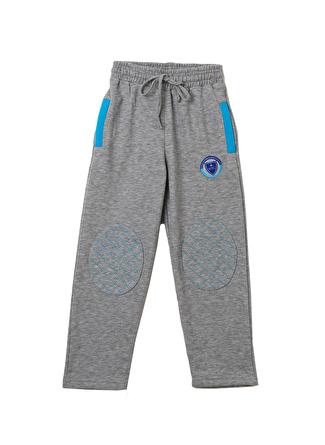 (Bümed) Meç Okullari Gri Unisex Çocuk Pantolon