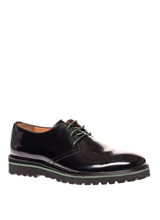 Cotton Bar Siyah Klasik Ayakkabı