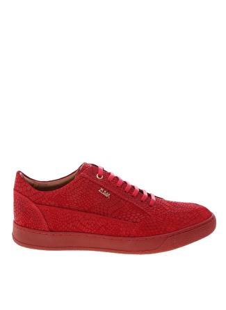 Zuma Erkek Kırmızı Deri Klasik Ayakkabı