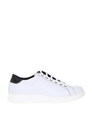 Fabrika Erkek Beyaz Deri Günlük Ayakkabı