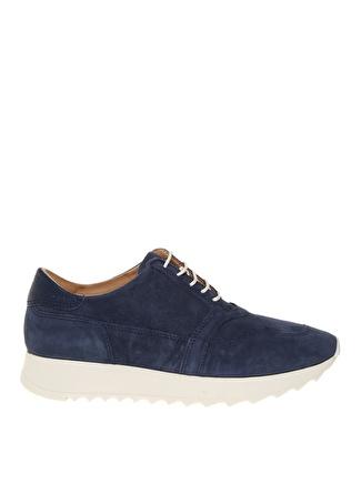 PENFORD Kadın Süet Lacivert Düz Ayakkabı