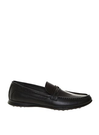 Cacharel Erkek Deri Siyah Klasik Ayakkabı