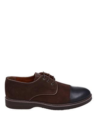 Fabrika Deri Kahve Klasik Ayakkabı