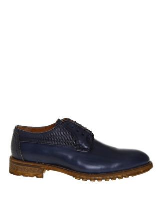 Fabrika Erkek Lacivert Klasik Klasik Ayakkabı