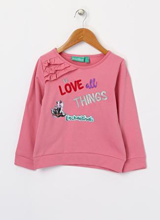 Enchantimals Kız Çocuk Pembe Sweatshirt Sweatpant
