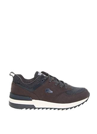 Lumberjack Memory Foam Gri Klasik Ayakkabı