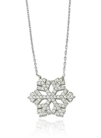 Glorriasense Gümüş Kartanesi Kolye