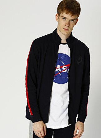 Only & Sons Lacivert Sweatshirt