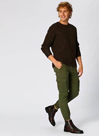 Only & Sons Yeşil Denim Pantolon