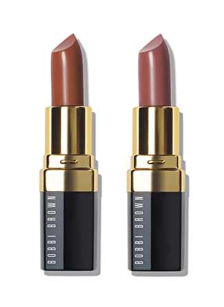 Bobbi Brown Party Lips Mini Lip Color Duo - Sandwash Pink / Brownie 2'li Ruj