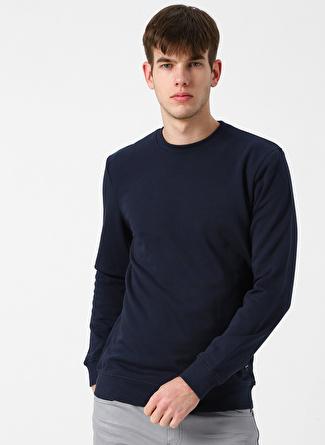 Only & Sons Bisiklet Yaka Lacivert Sweatshirt