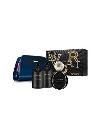 Bvlgari Goldea The Roman Night Edp 75 ml Kadın Parfüm Set