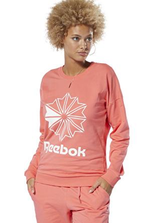 Reebok DT7245 Classics Big Logo Crew Sweatshirt
