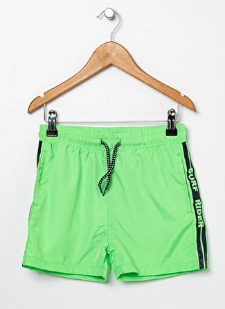 Limon Company Erkek Çocuk Neon Yeşil Şort Mayo