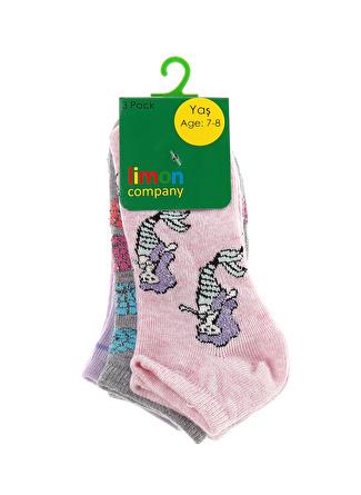 Limon Company Kız Çocuk Patik Çorap