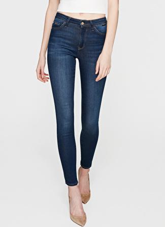 Mavi Alissa Dark Golden Gold Denim Pantolon