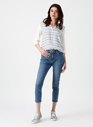 Mavi Tess Mid Blue 90's Str Denim Pantolon