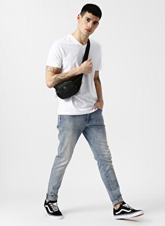 Lee Cooper Ağartılmış Mavi Denim Pantolon