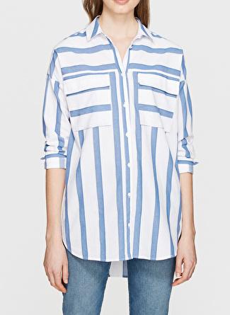 Mavi Uzun Kollu Mavi Gömlek