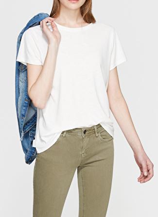 Mavi Beyaz Modal Tişört