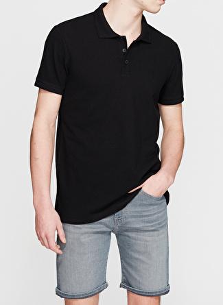 Mavi Siyah Polo T-Shirt