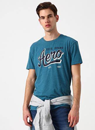 Aeropostale Petrol T-Shirt