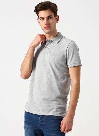Aeropostale Gri Melanj Polo T-Shirt